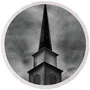 Steeple Round Beach Towel