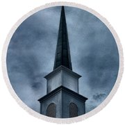 Steeple II Round Beach Towel