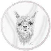 Stella Round Beach Towel
