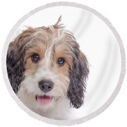Stella1 Round Beach Towel