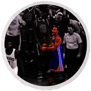 Stephen Curry Sweet Victory Round Beach Towel