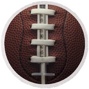 Steroid Use In Football Round Beach Towel