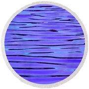 Still Waters Round Beach Towel
