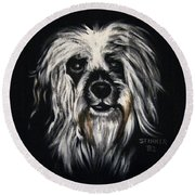 Stinker Round Beach Towel