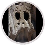 Stone Ghoul Round Beach Towel