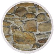 Stone Hot  Round Beach Towel
