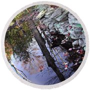 Stonewall Reflections Round Beach Towel
