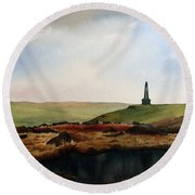 Stoodley Pike Round Beach Towel