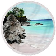 Store Bay Tobago Round Beach Towel