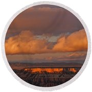 Storm Clearing Round Beach Towel
