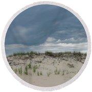 Storm Dune Round Beach Towel