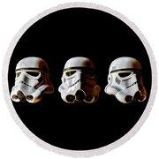 Stormtrooper 1-3 Round Beach Towel