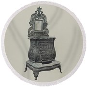 Stove Round Beach Towel