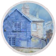 Stow On The Wold Round Beach Towel