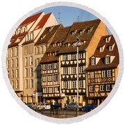 Strasbourg Round Beach Towel
