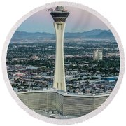 Stratosphere Casino Hotel And Tower Round Beach Towel