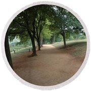 Stroll On Mulberry Row Monticello Round Beach Towel