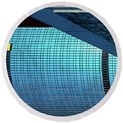 Structures West 2 Round Beach Towel