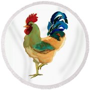 Strut Your Stuff - 6 Round Beach Towel