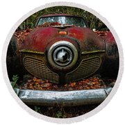 Studebaker Commander Round Beach Towel