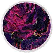 Studio 54 Round Beach Towel