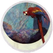 Study For Polly 1923 Round Beach Towel