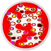 Such A Lovely Day Don't You Think Round Beach Towel by Eikoni Images