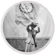 Suffragist, C1912 Round Beach Towel