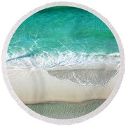 Sugar Sand Beach Round Beach Towel