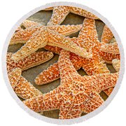 Sugar Starfish Round Beach Towel