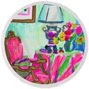 Sugarman's Table Round Beach Towel