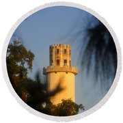 Sulphur Springs Tower Round Beach Towel