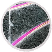 Summer Abstract Round Beach Towel