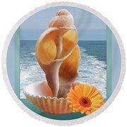 Summer Daydream Round Beach Towel