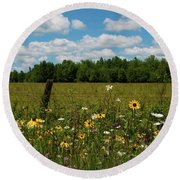 Summer Dreams... Round Beach Towel