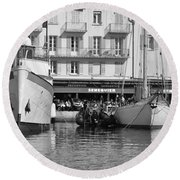 Summer Feelings Saint - Tropez Round Beach Towel