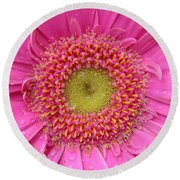 Summer Glory Round Beach Towel
