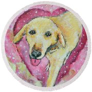 Summer In The Sky For You Round Beach Towel