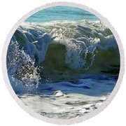 Summer Splash Round Beach Towel