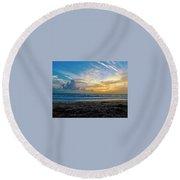 Summer Winds  Round Beach Towel