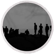 Summit People Round Beach Towel
