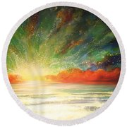 Sun Bliss Round Beach Towel