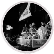 Sun Ra Arkestra At The Red Garter 1970 Nyc 11 Round Beach Towel