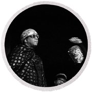 Sun Ra Round Beach Towel