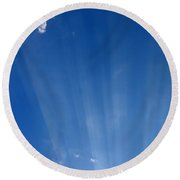 Sun Ray's Round Beach Towel