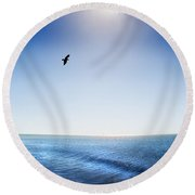 Sun Shade Round Beach Towel