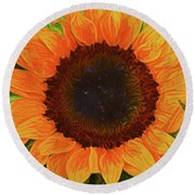 Sunflower 12118-3 Round Beach Towel