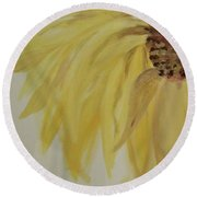 Sunflower Movement Round Beach Towel