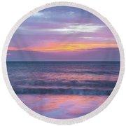 Sunrise 16-11-15 Round Beach Towel