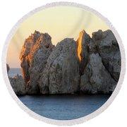 Sunrise Cabo 3 Round Beach Towel